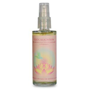 Aroma-Raumspray | GlücklichSein mit Rosenquarz 80 ml