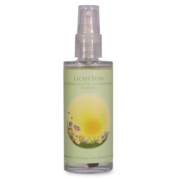 Aroma-Raumspray | LichtSein mit Amethyst 80 ml