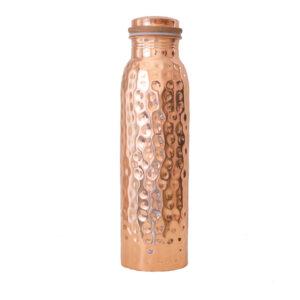 Kupferflasche   Gehämmert 900 ml