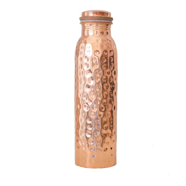 Kupferflasche | Gehämmert 900 ml